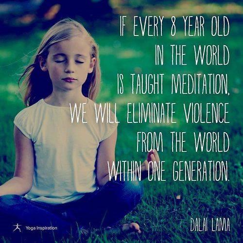 meditation cure