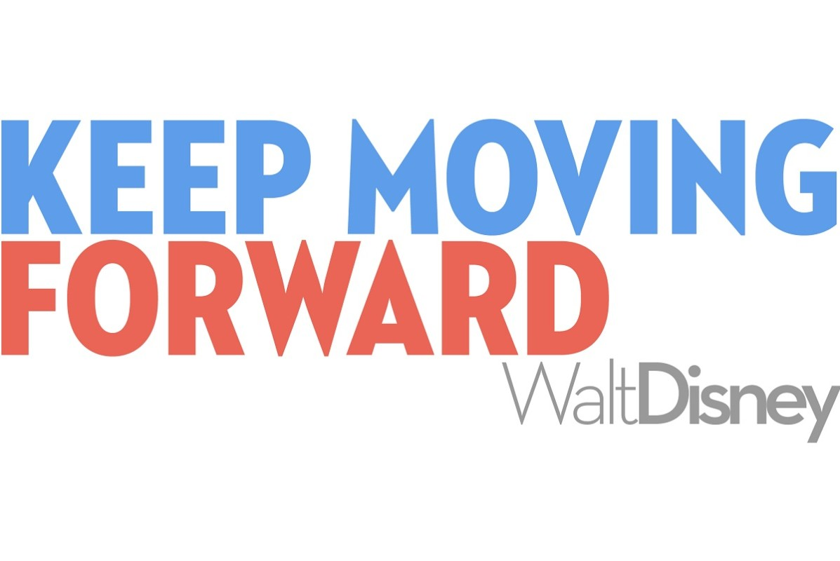 Keep Moving Forward My Walt Disney Quote Tattoo Designs ...