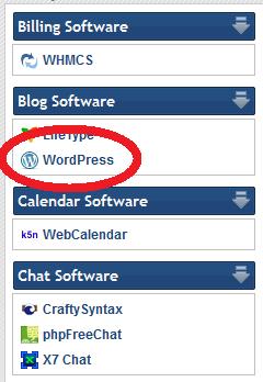 quickinstall blog software